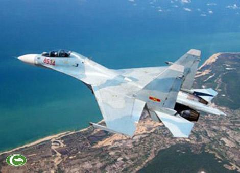 """Su-30MK2V (được mệnh danh là """"Hổ mang chúa"""", """"ông hoàng"""" của không quân Việt Nam,"""