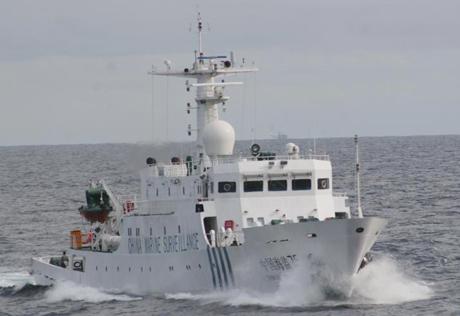 Tàu hải giám của Trung Quốc. Ảnh: Tân Hoa Xã.