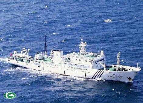 Trung Quốc ngày càng đẩy mạnh các hoạt động nhằm chiếm hữu biển Đông trên thực tế. Cuối tháng 6, một đội tàu hải giám đã tới Trường Sa để tuần tra.