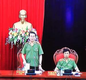 Bộ trưởng Trần Đại Quang chỉ đạo thực hiện quyết liệt nhiều nhiệm vụ trọng tâm thời gian tới. Ảnh: V.T
