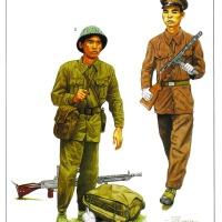 Người bộ đội Cụ Hồ qua nét vẽ của hoạ sĩ Mỹ
