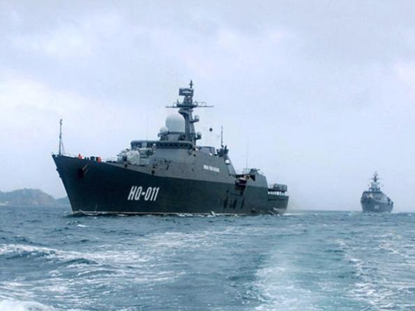 Các chiến hạm Gepard 3.9 của Việt Nam mang tên Đinh Tiên Hoàng và Lý Thái Tổ.