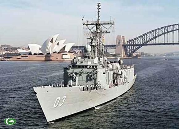 Tàu HMAS Sydney Tháng 10/2012 sẽ đến thăm Việt Nam