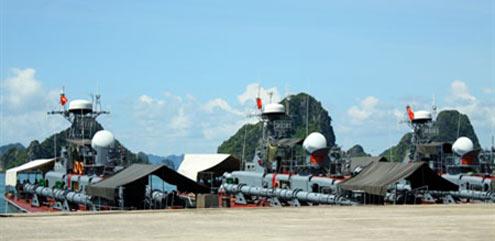 Từ quân cảng này, nhiều lượt tàu của Lữ đoàn 170 (Vùng 1 Hải quân) đã lên đường, thực hiện thắng lợi mọi nhiệm vụ được giao.