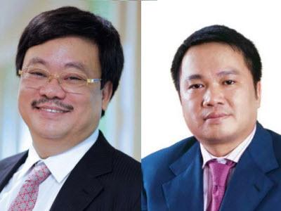 Ông Nguyễn Đăng Quang và ông Hồ Hùng Anh hai lãnh đạo chủ chốt của Masan
