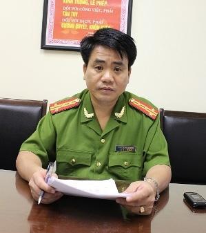 Đại tá Nguyễn Đức Chung được bổ nhiệm Quyền giám đốc Công an TP Hà Nội.