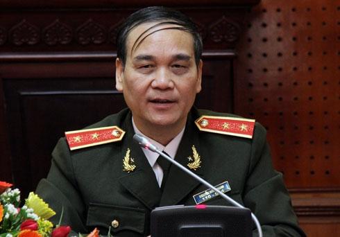 Trung tướng Nguyễn Đức Nhanh.