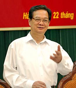 Thủ tướng yêu cầu bảo đảm an toàn của hệ thống ngân hàng. Ảnh: Chinphu.vn