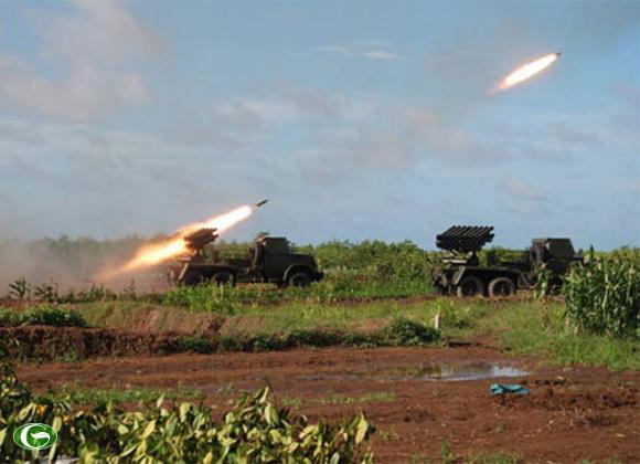"""""""Rồng lửa"""" BM14 xuất kích truy tìm mục tiêu trên biển"""