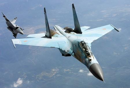 Máy bay Su-30K.