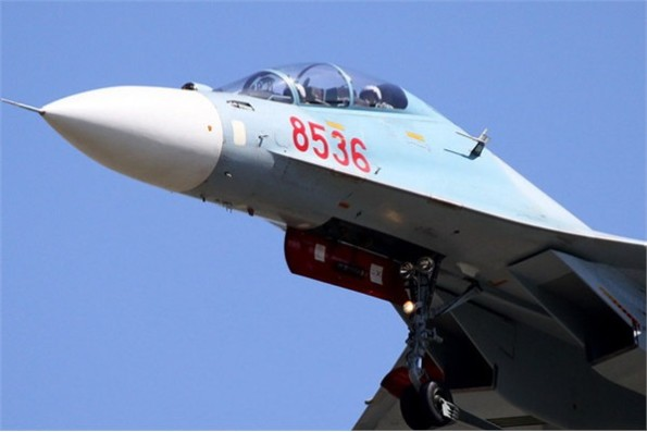 SU-30MKV của không quân Việt Nam có tầm tác chiến bao phủ toàn bộ Biển Đông góp phần giữ vững chủ quyền đất nước.