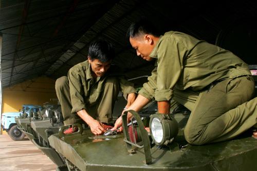 Bảo quản vũ khí trang bị
