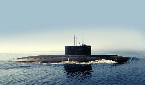 Tàu ngầm lớp Kilo thuộc Dự án 636. Ảnh: Armybase