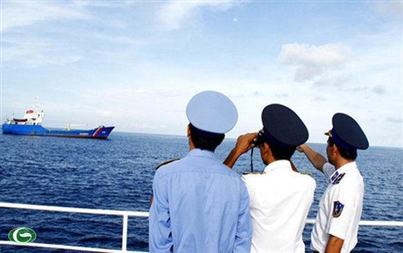 Cảnh sát biển đã thường xuyên tiến hành chuyến tuần tra kiểm soát trên vùng biển Việt Nam