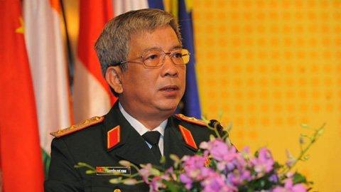 Thượng tướng Nguyễn Chí Vịnh: Chủ quyền, lãnh thổ là thiêng liêng, bất khả xâm phạm và không thể đánh đổi. Ảnh: Minh Thăng