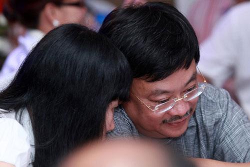 Chiều 27/8, tại buổi lễ phát động thi đua lập thành tích quý 4/2012 của Tập đoàn Masan tổ chức ở TP.HCM, ông Nguyễn Đăng Quang đã bác bỏ những tin đồn liên quan đến việc bị bắt giữ và cho biết ông vừa trở về Việt Nam sau mấy ngày đưa con đi du học.(Ảnh: Thành Luân)