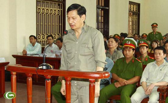 Bị cáo Phạm Thanh Bình tại phiên tòa