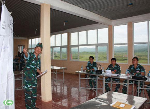 Xử lý một số tình huống về công tác quân y, kỹ thuật cấp cứu thương binh tại trận địa.