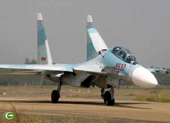 Máy bay chiến đấu đa năng SU-30 của Việt Nam