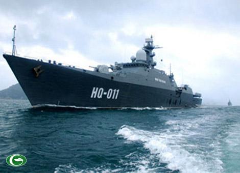 Ngạc nhiên tốc độ đóng tàu chiến của Việt Nam