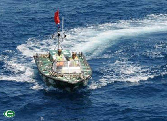 Ca nô tuần tra biển của Việt Nam.