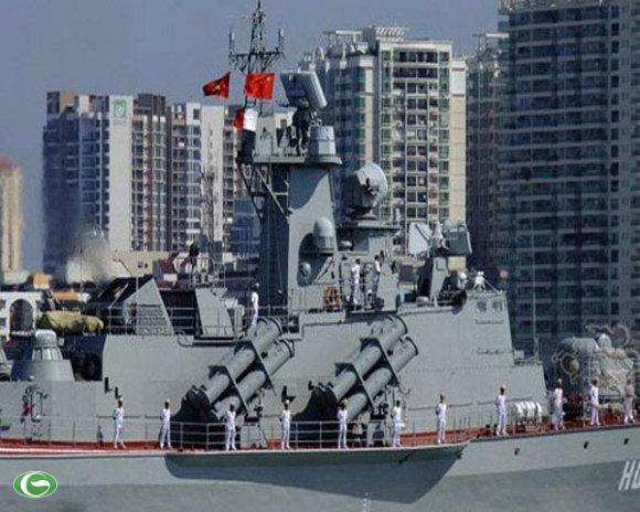 Hải quân Việt Nam đến thăm Trung Quốc
