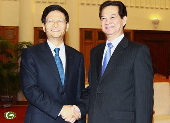 Thủ tướng Nguyễn Tấn Dũng nhấn mạnh: Không để biển Đông ảnh hưởng quan hệ Việt - Trung