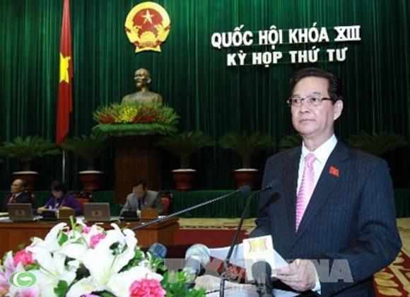 """Thủ tướng Nguyễn Tấn Dũng đã nghiêm túc, thẳng thắn nhìn nhận những yếu kém, thể hiện một tinh thần rất nghiêm túc, xứng đáng vị trí """"đầu tàu"""" của Chính phủ."""