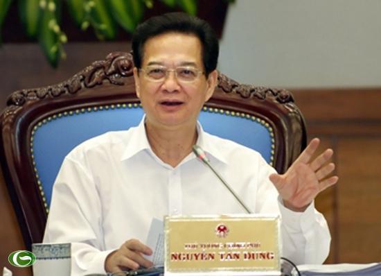 Thủ tướng Nguyễn Tấn Dũng: 'Không có vùng cấm xử tội phạm Ngân hàng'