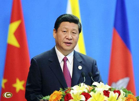 """Phó chủ tịch Trung Quốc Tập Cận Bình đã """"niềm nở"""" chào đón các nguyên thủ ASEAN đến tham dự"""