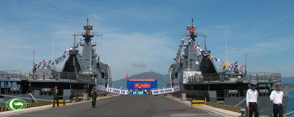 Hai tàu hộ vệ tên lửa Gepard 3.9
