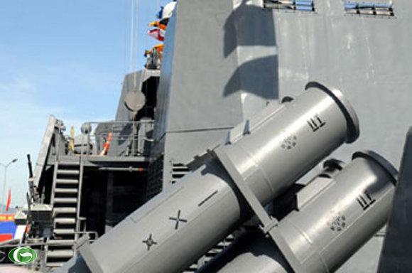 Tên lửa chống hạm dưới âm chiến thuật Kh-35E