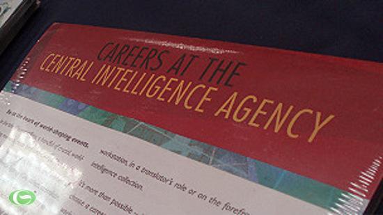 Tờ rơi quảng cáo đi làm cho CIA.