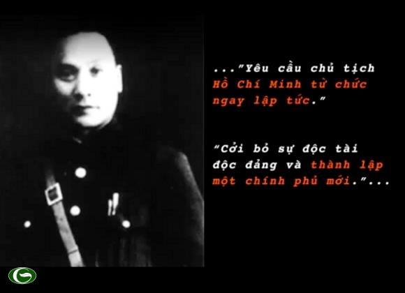 Đây là trích đoạn nội dung bức tối hậu thư mà Lư Hãn gữi Hồ chủ tịch vào mùng 8 tháng 11.