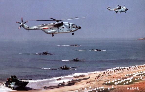 Phương thức đổ bộ lập thể trong tác chiến vượt biển đánh chiếm đảo của hải quân đánh bộ Trung Quốc