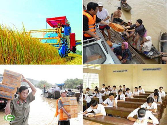 Cho nông dân vay vốn mua máy nông nghiệp, cho sinh viên vay vốn học tập, cứu trợ đồng bào vùng lũ... là một trong nhiều chính sách an sinh xã hội được Thủ tướng đẩy mạnh