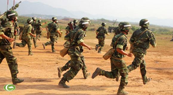 Đại tá Trần Ngọc Sơn- Lữ đoàn trưởng nhấn mạnh: Huấn luyện, sẵn sàng chiến đấu là nhiệm vụ quan trọng, là biện pháp để nâng cao sức mạnh tổng hợp và khả năng, trình độ sẵn sàng chiến đấu của Lữ đoàn.