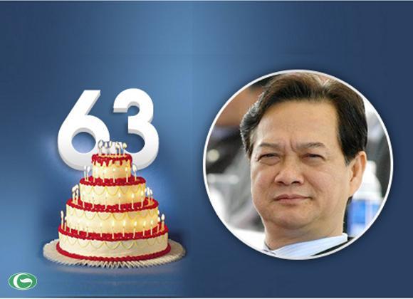 Sinh nhật lần thứ 63 của Thủ tướng Nguyễn Tấn Dũng