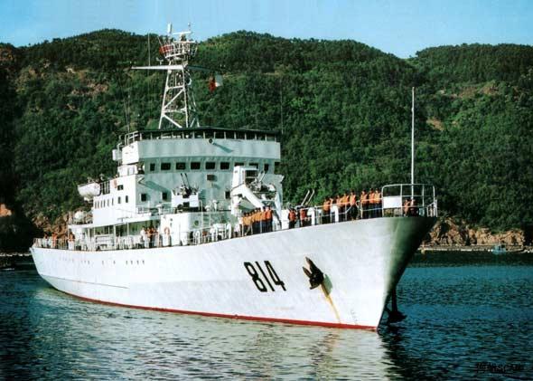 Tàu rải lôi lớp 918 của hải quân Trung Quốc sẽ là chủ lực trong chiến lược bao vây, phong tỏa