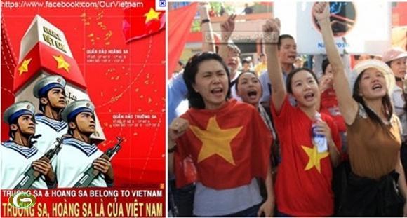 Sự kiện biển Đông đang làm trỗi dậy lòng yêu nước thường trực trong mỗi người dân Việt Nam. Nhưng nó dễ bị kích động, lợi dụng bởi các thế lực thù địch.