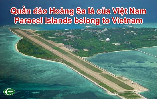 Đảo Phú Lâm thuộc Quần đảo Hoàng Sa