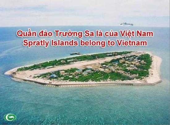Đảo Trường Sa Lớn thuộc Quần đảo Trường Sa