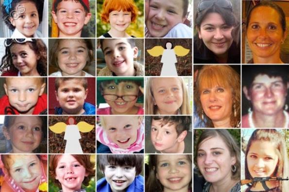 Những nạn nhân bé nhỏ trong vụ xả súng tại trường tiểu học Sandy Hook