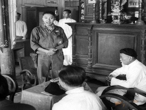 Phạm Ngọc Thảo lúc làm Tỉnh trưởng Kiến Hòa - Ảnh: LIFE