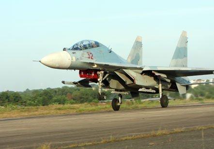 Chiến đấu cơ Su30MK của quân chủng Phòng không - Không quân