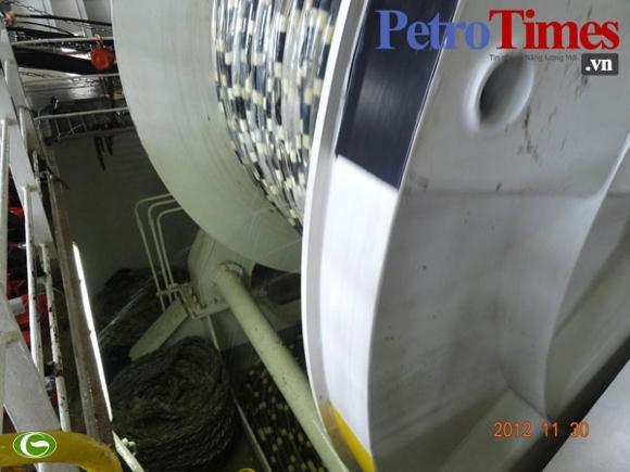 Tàu Trung Quốc lại cắt cáp tàu Bình Minh 02