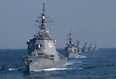 Tàu chiến Nhật Bản, đi đầu là tàu khu trục lớp Kongo