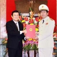 Ông Trần Đại Quang được thăng quân hàm Đại tướng