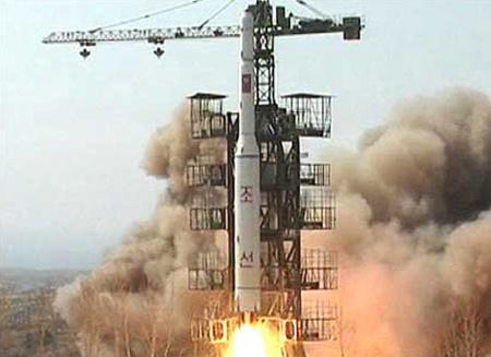 Tên lửa Unha-3 của Triều Tiên. Ảnh The Algemeiner