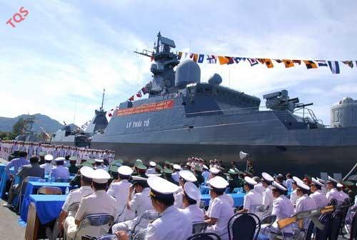 Chiến hạm Lý Thái Tổ của Quân đội Nhân dân Việt Nam